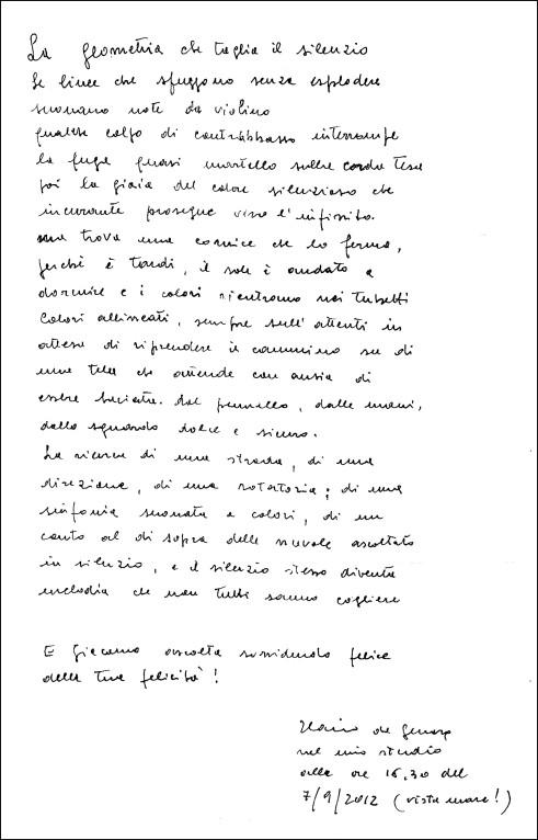 lettera ilario