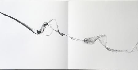 una pagina del libro 15 movimenti dedicati a Stockhausen 1988